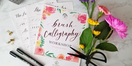 Blooms & Lettering:  Intro to Floral Arrangements & Brush Pen Calligraphy tickets