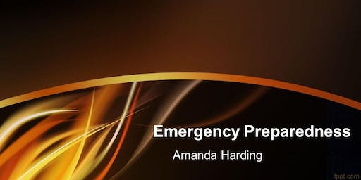 **INITIAL 120 DAY** Emergency Preparedness and Response Planning Resulting from a Natural or Man-Made Event