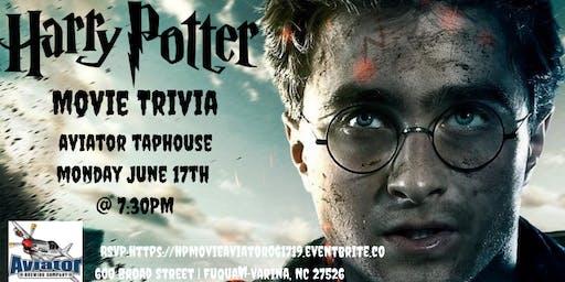 Harry Potter Movie Trivia at Aviator Tap House