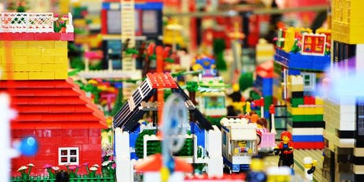 Block City! Come build a city of LEGO blocks with us!