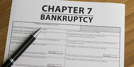Learn How To File Chpt 7 Bankruptcy For Free tickets