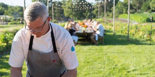 July farm-to-table dinner at the Chatham Bars Inn Farm