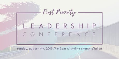 First Priority Leadership Conference tickets