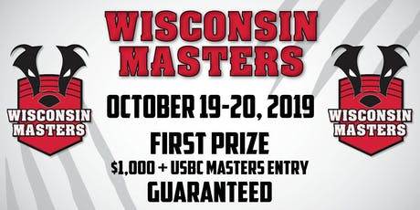 2019 Wisconsin Masters tickets