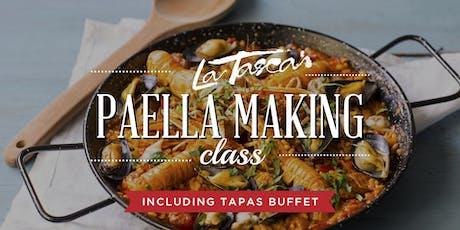 Paella Making Class at La Tasca DC tickets