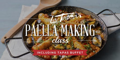 Paella Making Class at La Tasca DC