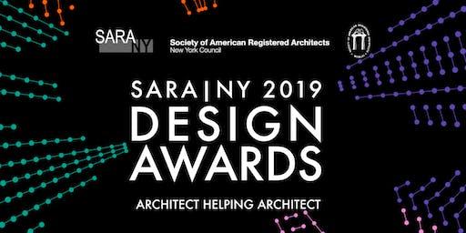 Society of American Registered Architects: 2019 SARA NY Design Awards Gala