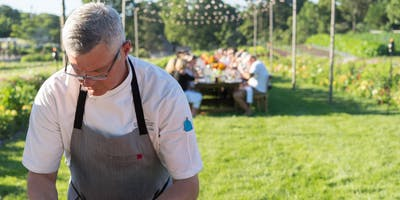 August farm-to-table dinner at the Chatham Bars Inn Farm