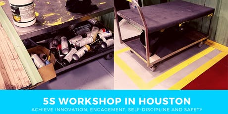 5S workshop in Houston - 1 day to organize the workplace tickets