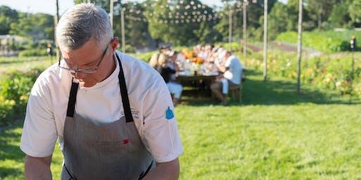 September farm-to-table dinner at the Chatham Bars Inn Farm