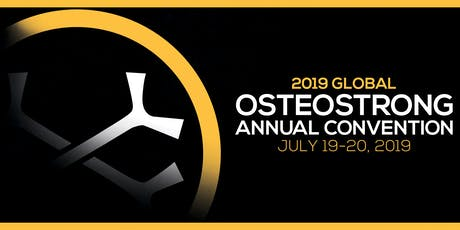 2019 Global OsteoStrong Annual Convention tickets