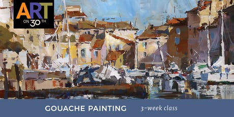 WED - Gouache Landscape Painting with instructor Tiffanie Mang tickets