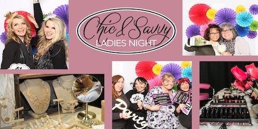 Chic & Savvy Ladies Night ~ Oceanside