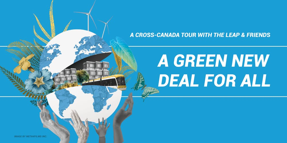 Image result for Vancouver green new deal tour