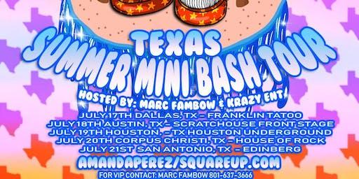 Amanda Perez Texas Tour