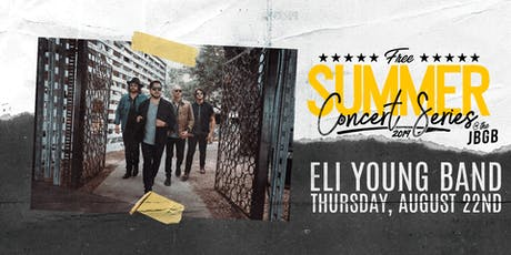Eli Young Band live at JBGB August 22nd tickets