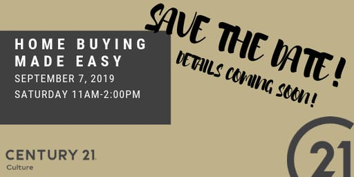 Home Buying Made Easy - FREE EVENT #3