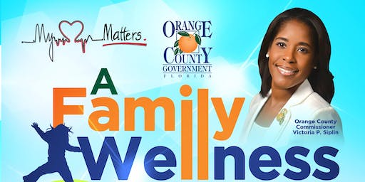 Commissioner Siplin's A Family Wellness Affair: My Heart Matters Health Symposium