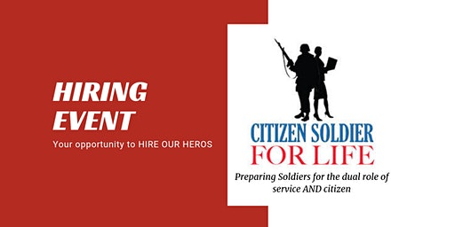 ARNG Citizen Soldier For Life Hiring Event