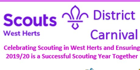 West Herts Scouts District Carnival tickets