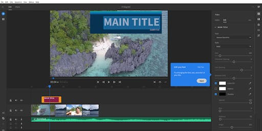 Introduction to Adobe Premiere