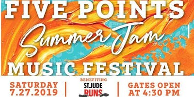 Summer Jam Music Festival for St. Jude Runs