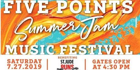 Summer Jam Music Festival for St. Jude Runs tickets
