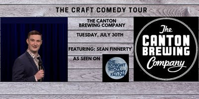 The Craft Comedy Tour is coming to The Canton Brewing Company!