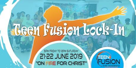 Teen Fusion Lock-In tickets