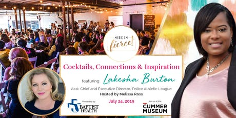 She Is Fierce! Live featuring PAL Executive Director Lakesha Burton: Cocktails, Connections & Inspiration tickets