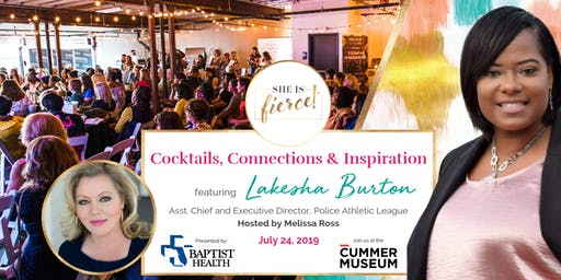 She Is Fierce! Live featuring PAL Executive Director Lakesha Burton: Cocktails, Connections & Inspiration