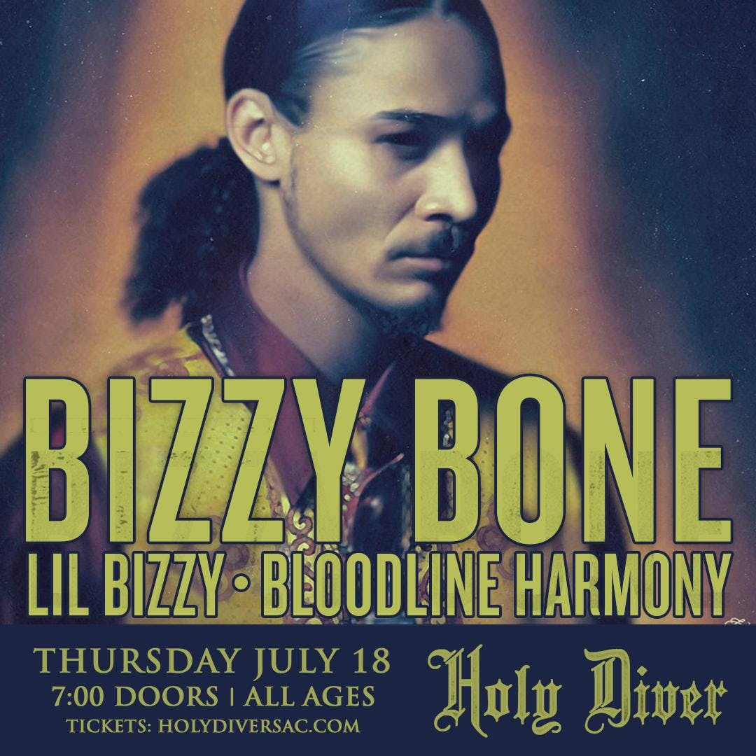 Bizzy Bone (from Bone Thugs-n-Harmony)