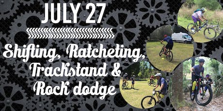 AJ'S MOUNTAIN BIKE BICP SKILLS :SHIFTING, RATCHING, TRACKSTAND & ROCK DODGE tickets