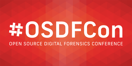 2019 Open Source Digital Forensics Conference (#OSDFCon) tickets