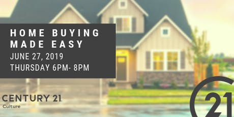 Home Buying Made Easy- FREE EVENT #2 tickets