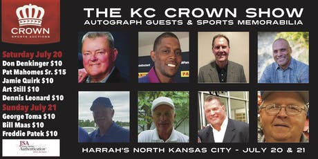 THE KC CROWN SHOW - Autograph Signings & Sports Memorabilia  tickets