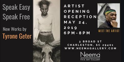 Meet Tyrone Geter & View His New Body of Work @Nee
