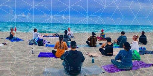 Full Moon Yoga & Meditation on Hollywood Beach May