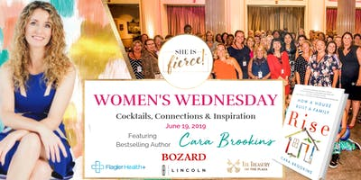 She Is Fierce! 'Women's Wednesday' featuring Cara Brookins, Bestselling Author of 'Rise: How a House Built a Family'