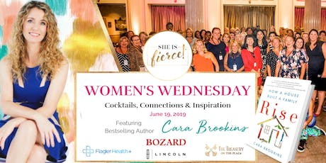 She Is Fierce! 'Women's Wednesday' featuring Cara Brookins, Bestselling Author of 'Rise: How a House Built a Family'  tickets