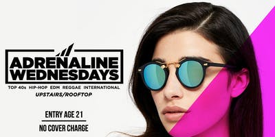 ADRENALINE WEDNESDAYS !! at CAFE CIRCA on EDGEWOOD AVENUE