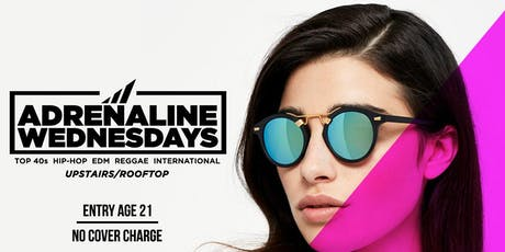 ADRENALINE WEDNESDAYS !! at CAFE CIRCA on EDGEWOOD AVENUE tickets
