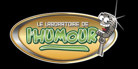 Le laboratoire de l'humour billets