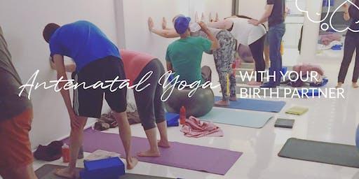 Antenatal Yoga Workshop - You and Your Birth Partner - June