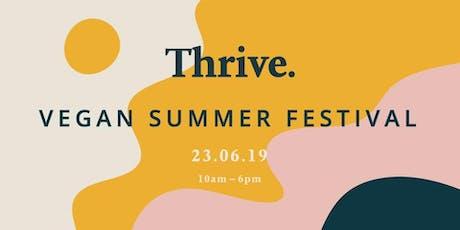 Thrive Vegan Summer Festival tickets