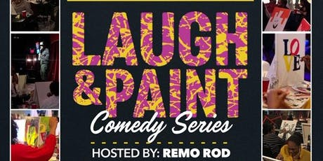 Laugh and Paint Comedy Show- Greensboro NC tickets
