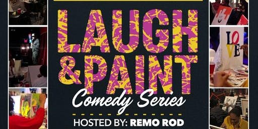 Laugh and Paint Comedy Show- Greensboro NC