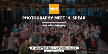 Photography MEET `N´ SPEAK - Beyond Photography Tickets