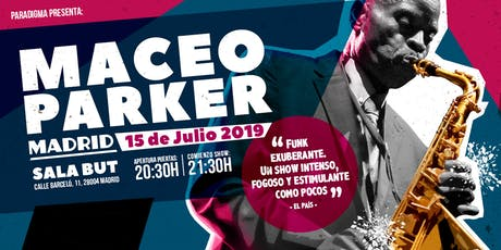 Maceo Parker en Madrid entradas