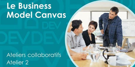 Business Model Canvas - Atelier collaboratif (2) billets